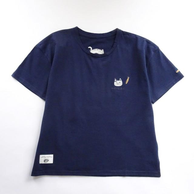 Tシャツ 「マチルダさんTシャツ ネイビー」