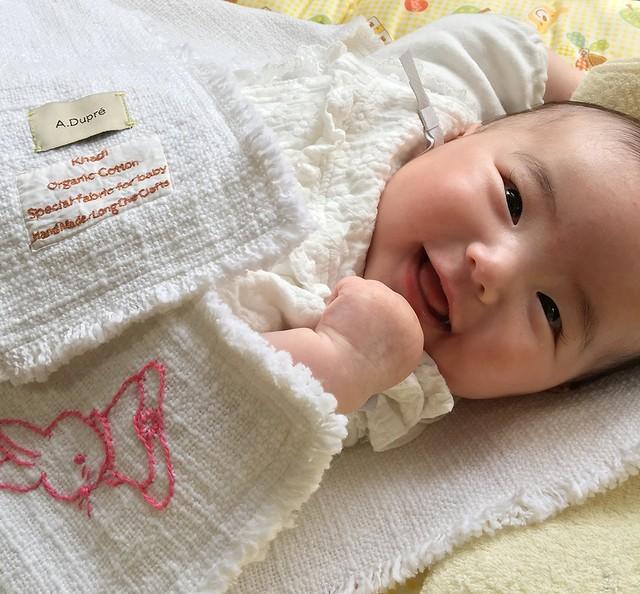 Organic Cotton Baby Towel