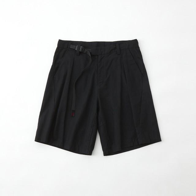 WM × GRAMICCI DARTED SHORT PANTS - BLACK