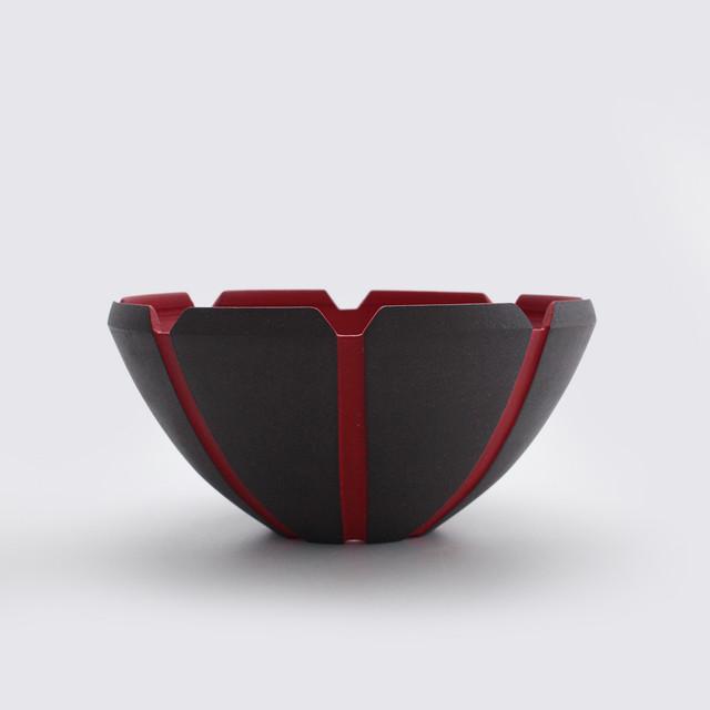 <限定予約販売> NINJYA POT - 兜8 bowl Mサイズ 赤