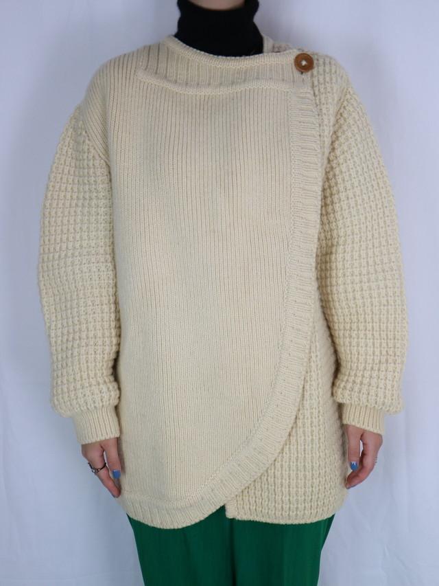 wool design cardigan【5114】