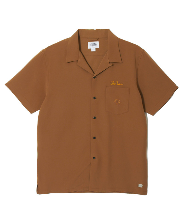 CRIMIE(クライミー) / C1H3-SH07 / CHECK OPEN COLLAR SHORT SLEEVE SHIRT