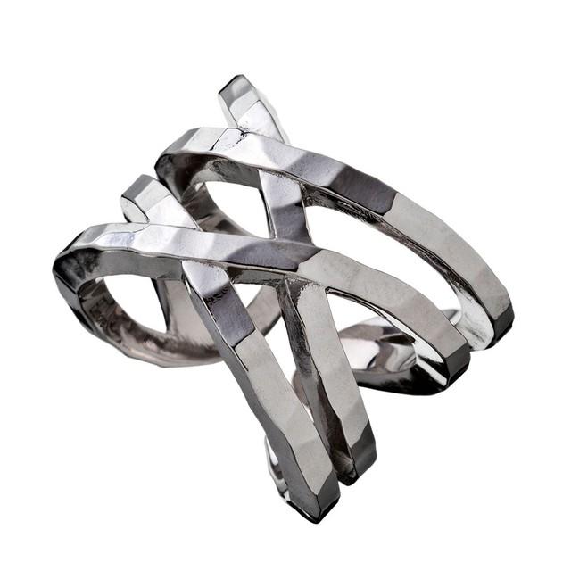 Elenore Jewelry×ARTEMIS KINGS ラップリング シルバーリング 9号~14号 AKELR0004