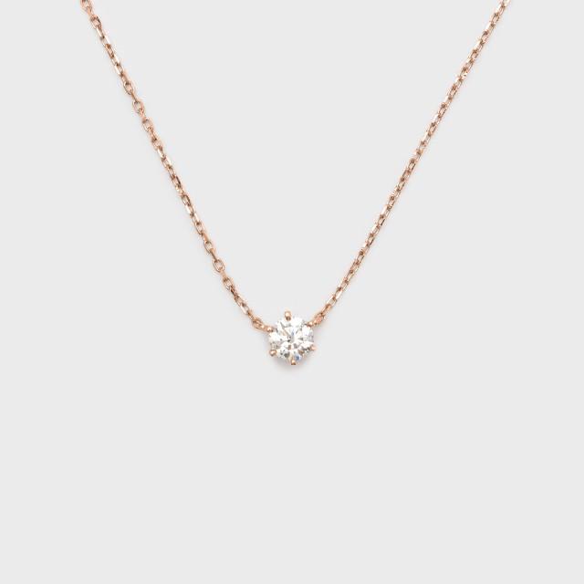 ENUOVE frutta Diamond Necklace K18PG(イノーヴェ フルッタ 0.2ct K18ピンクゴールド ダイヤモンドネックレス アジャスターワカンチェーン)