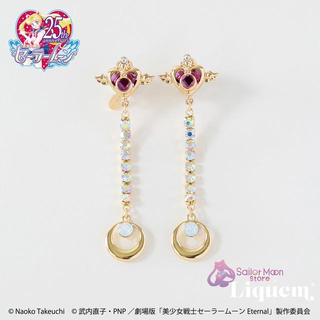 Sailor Moon store x Liquem / クライシス・ムーン・コンパクト ピアス