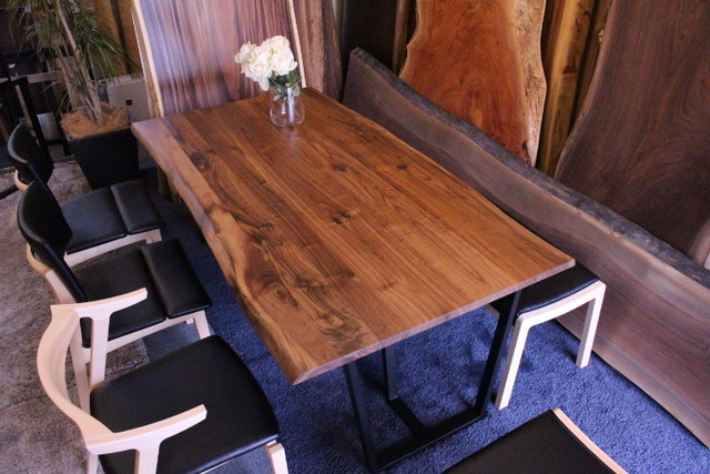 ウォールナット 無垢テーブル 1800×940‐950×27 18390