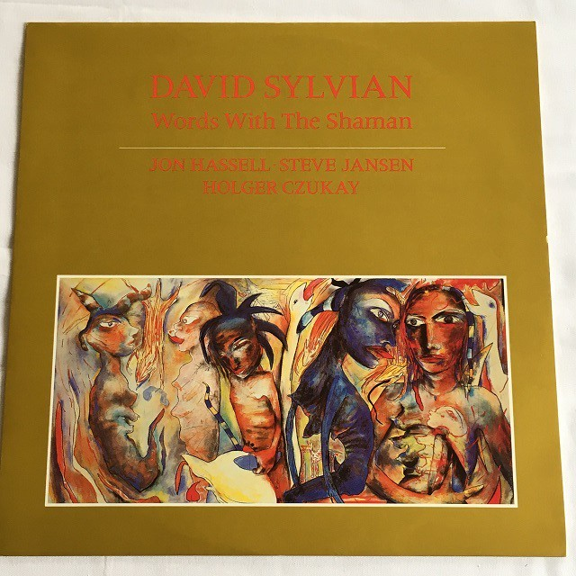 【12inch・英盤】David Sylvian  / Words With The Shaman