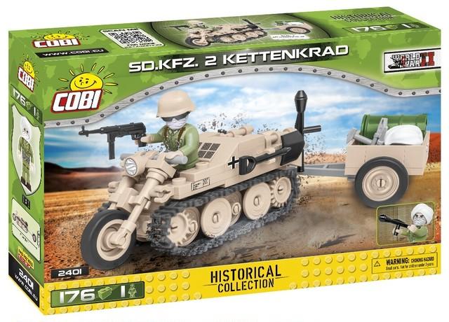 COBI #2168 SdKfz 2 ケッテンクラート