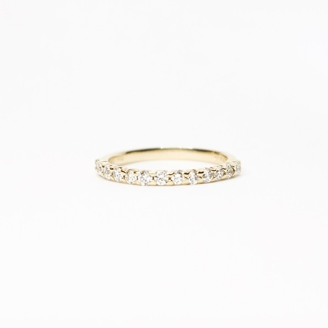 BEST SELLER | HALF ETERNITY RING