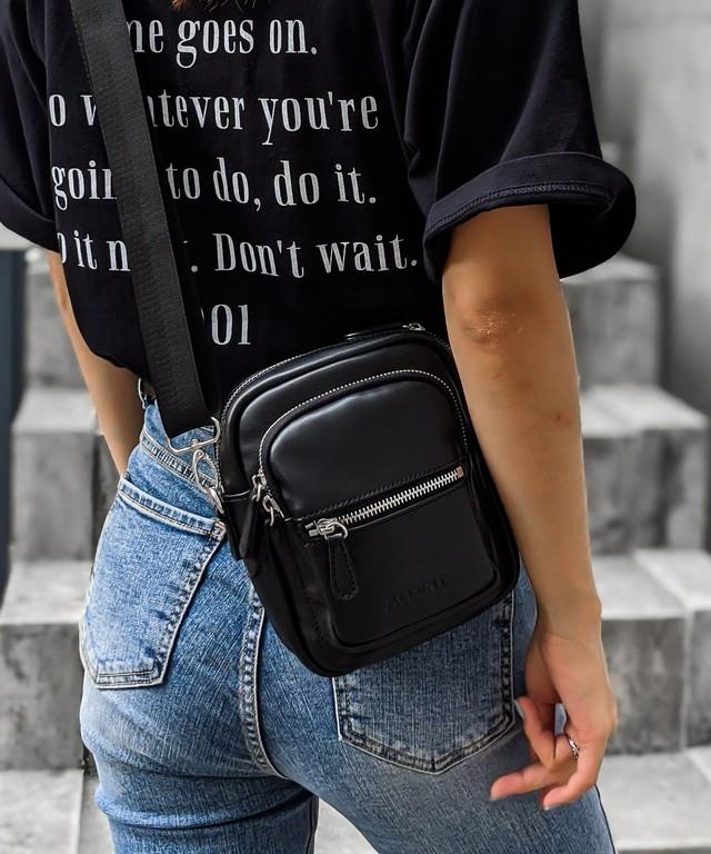 Fake leather mini bag