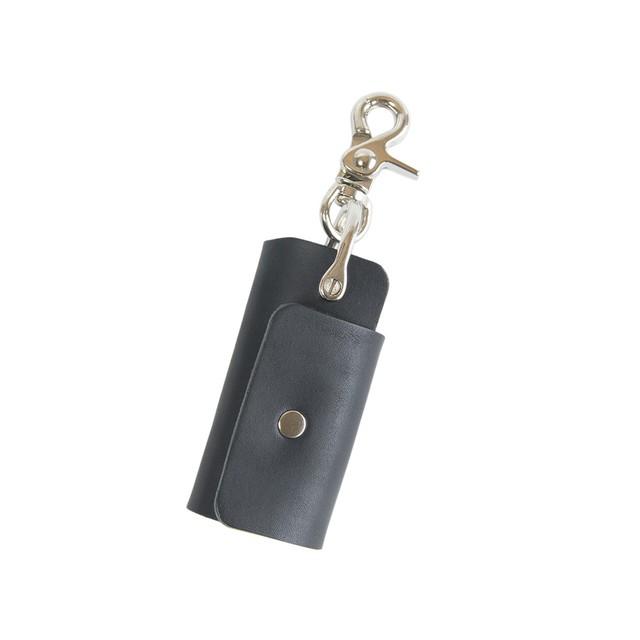 ウルトラコンパクトキーケース - キーオーガナイザー ブラック