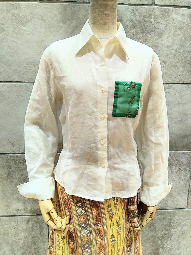 drm-026 大人の麻シャツ