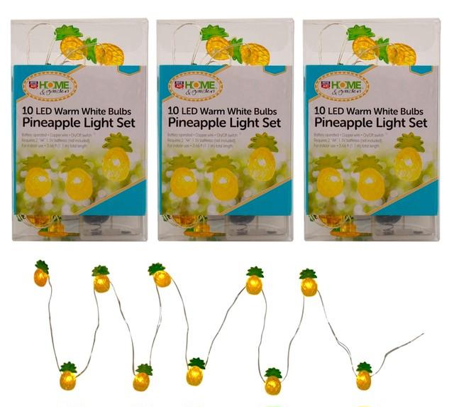 MINI 10 PINEAPPLE LED ストリングライト 110cm