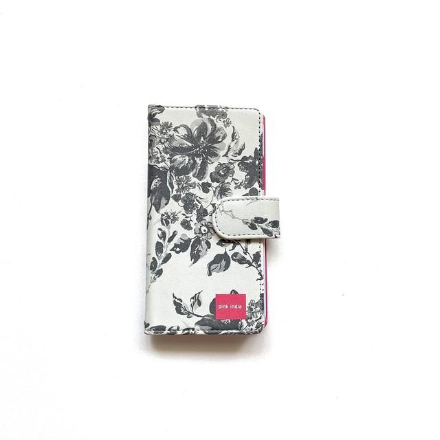 北欧デザイン iPhone手帳型ケース  | stella grey