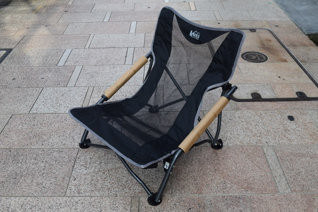 新品 REI Low chair Black C0618