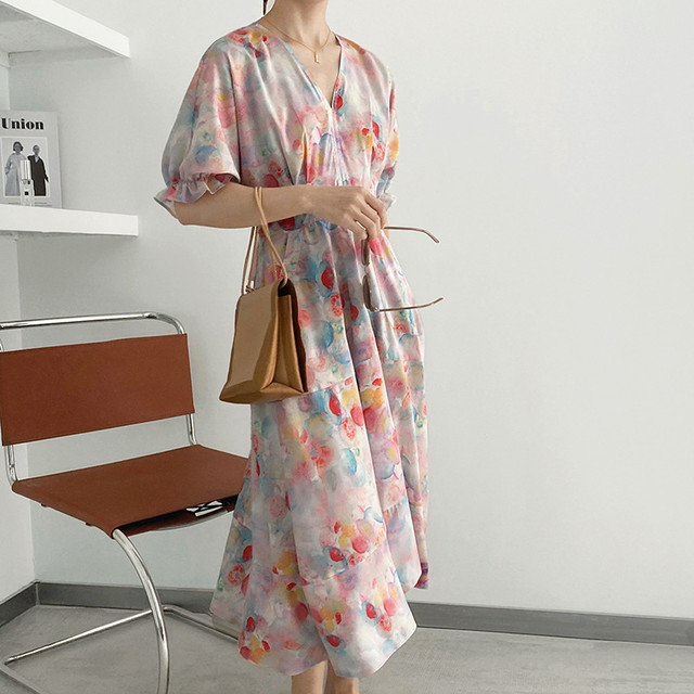 Floral onepiece KRE780