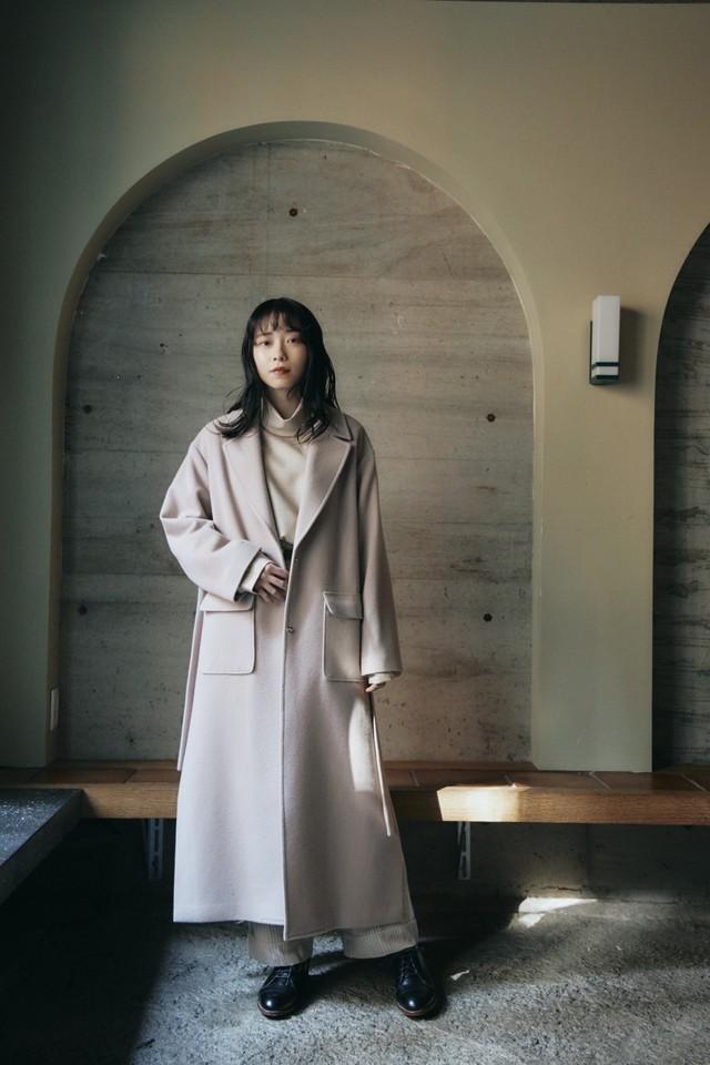 "Tailoring Wool Coat ""CaNARi 2020 WINTER"""