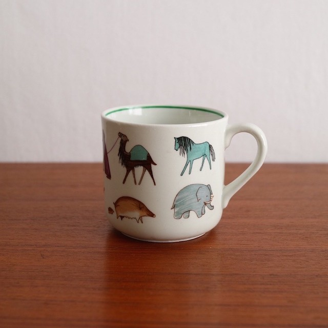 [SOLD OUT] Arabia / Parade Child's Mug