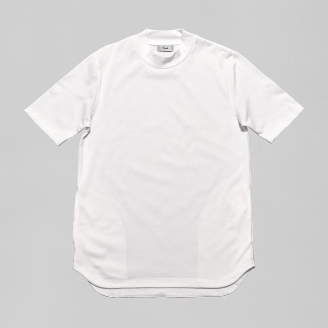オーセンティックドレスT モックネック / Authentic Dress T Moc Neck #PURE WHITE