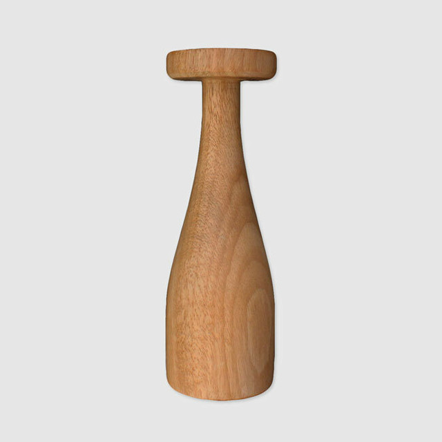 """HOTEL VILHELMS """"JEANNE"""" Wood Candle Stand"""