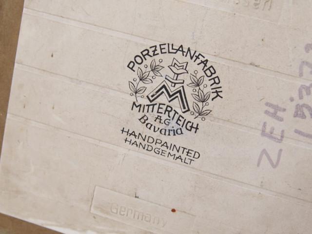 ドイツアンティーク タイルの額装品