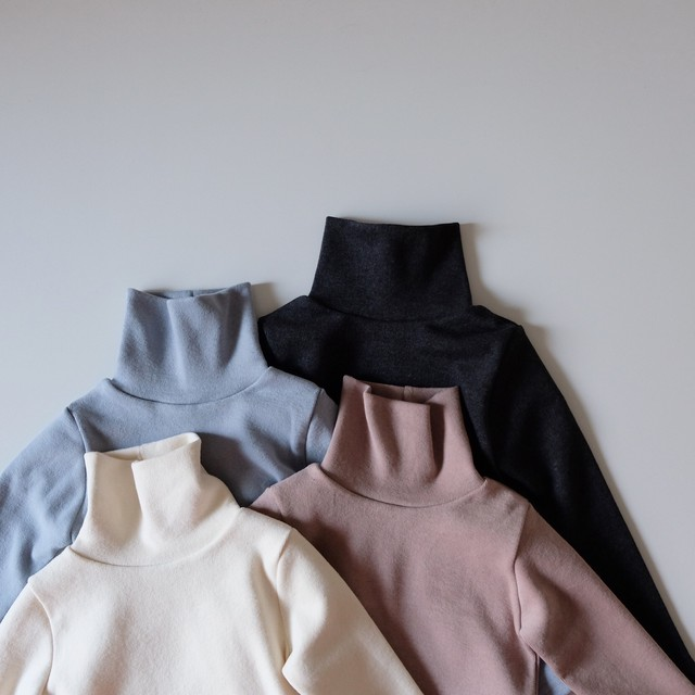 MERCIU BASIC TURTLENECK(全4色/90cm〜110cmサイズ展開)
