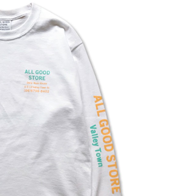 ALL GOOD STORE / AGS LOGISTICS L/S White