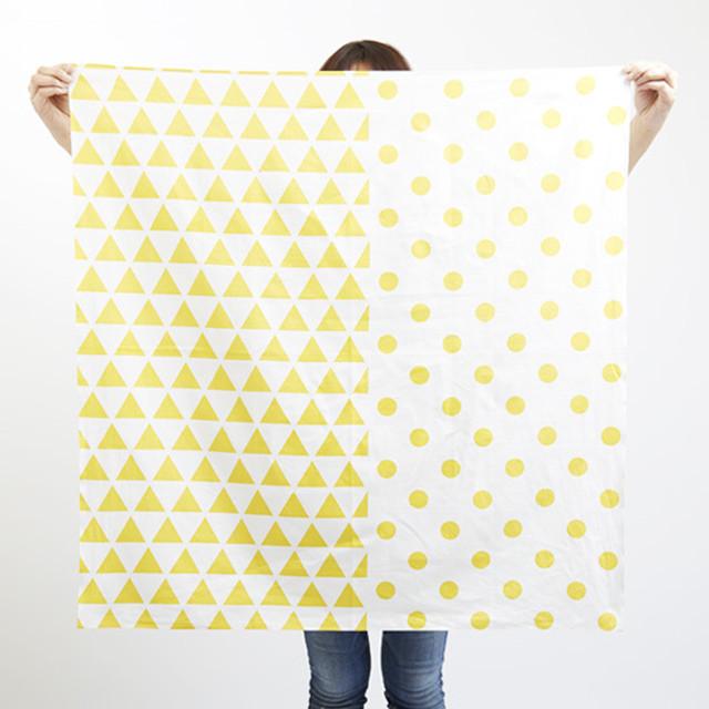 furoshiki/dandelion × scale & dots ハネルカ風呂敷 / 蒲公英 x 水玉鱗