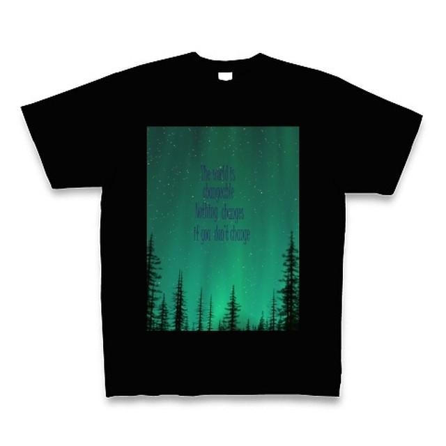 メンズTシャツ☆Forest☆ブラック