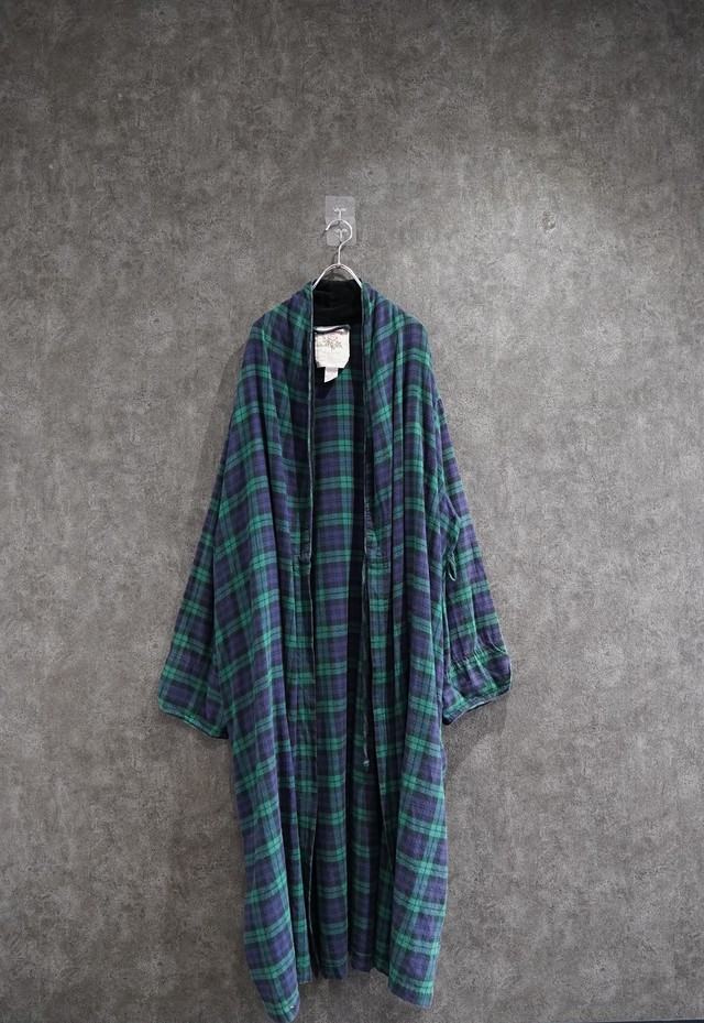 used check  long gown