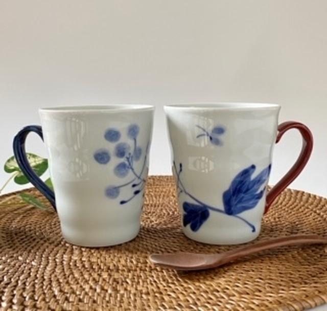 花もよう(菜の花) マグカップ