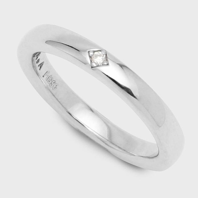 PORTADA BABY RING LYS(LADY'S MODEL)Pd950(ポルターダベビーリング レディースモデル リュース パラジウム950 ダイヤモンド)