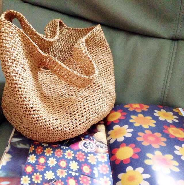 Knit Marche Bag