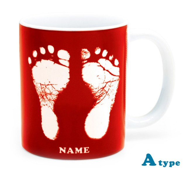 ai mug   A-type (LIGHT BLUE) QRコード付き