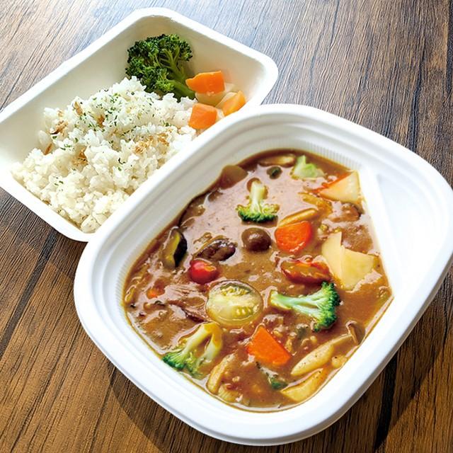 [ お弁当 ] たっぷり野菜のカレー / Vegetable Curry / 豐富野菜咖哩便當