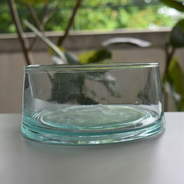 SØMME / MORCCO GLASS bowl L