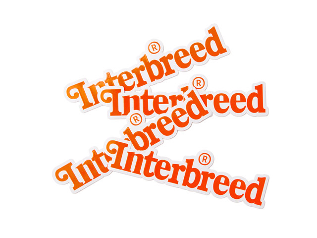 INTERBREED|Archive Logo Sticker (1枚)