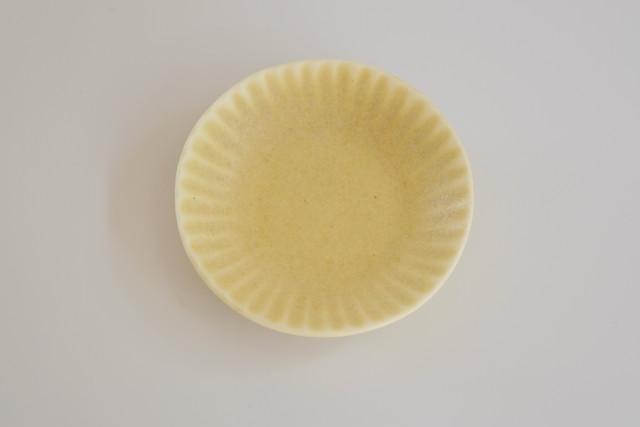 [豆皿] 菊 イエロー