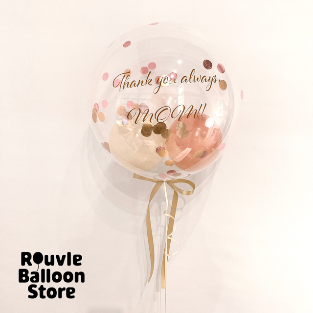 Happy Mother's Day★Clear Balloon