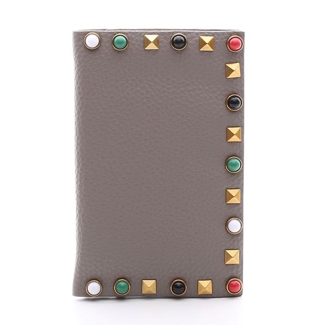 [SALE] 4350円→3480円OMNIA オムニア パスポートケース PASSPORT COVER スタッズ