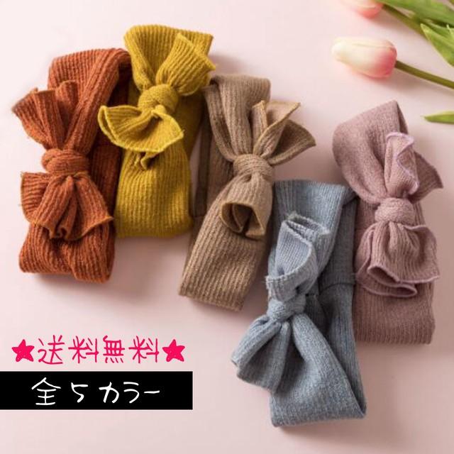【子供サイズ】 リボンカチューシャ  (042)