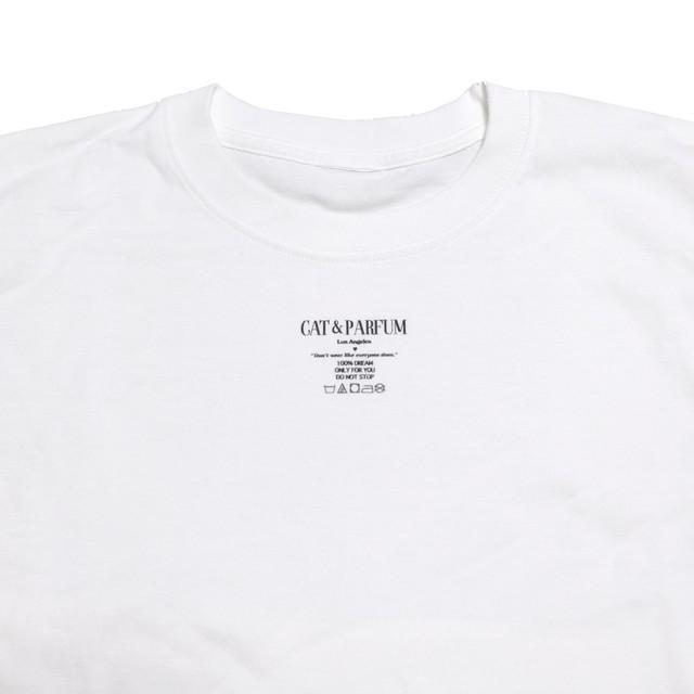 【Cat & Parfum】Quality Label Tag Tee