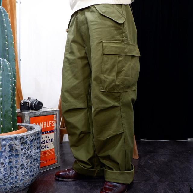 【新品】復刻 us.military M-65 field pants