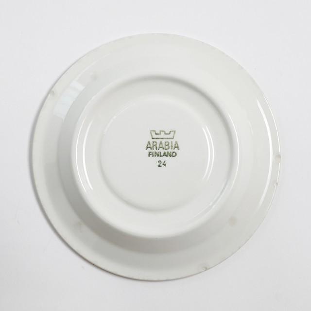 ARABIA アラビア Kirsikka キルシッカ コーヒーカップ&ソーサー - 1 北欧ヴィンテージ ☆わけあり☆