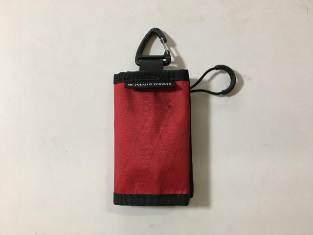 【Paagoworks】 TRAIL BANK S(red)