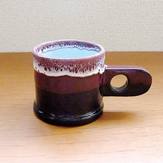 "Echo Park Pottery ""Mug"" Purple×Black"