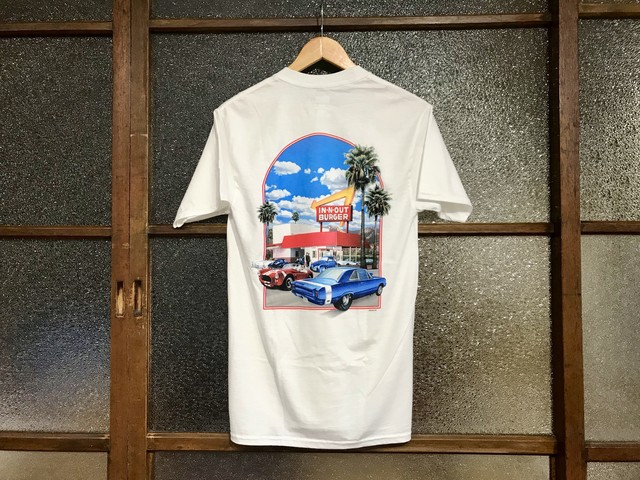IN-N-OUT BURGER TEE (WHITE)