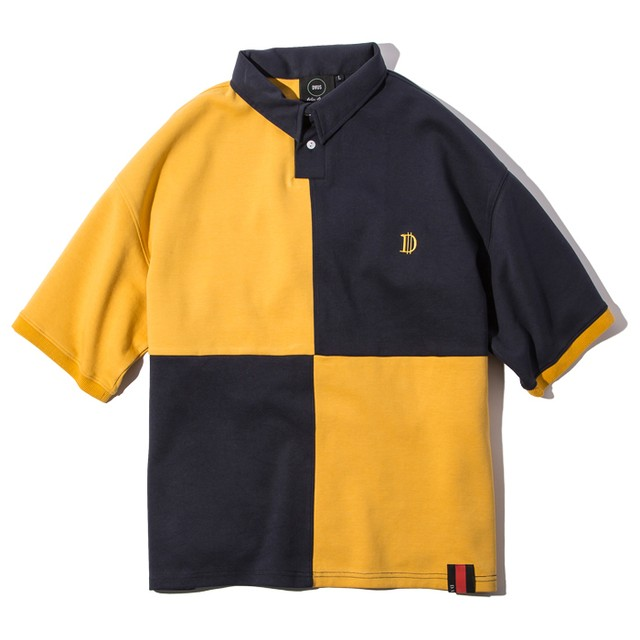 Deviluse(デビルユース) | Rugger Polo(Yellow/Navy)