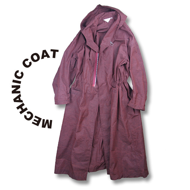 Mechanic coat [Black]