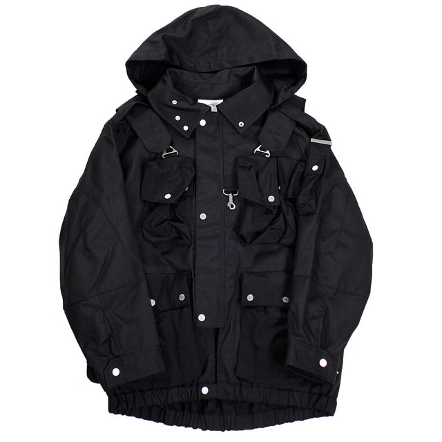 TATRAS X RIOT HILL Tactical Blouson Black